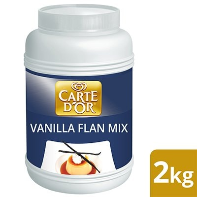 Carte d'Or Vanilla Flavoured Flan Mix 2kg -