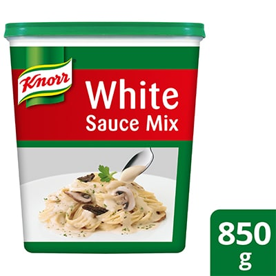 Knorr White Sauce Mix 850g - Knorr White Sauce Mix helps you deliver a consistently great tasting menu because it helps you deliver consistent pasta sauces.