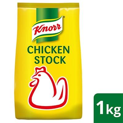 Stok Ayam Knorr 1kg - Stok Ayam Knorr memberikan rangsangan semula jadi yang konsisten pelbagai hidangan dengan meningkatkan kesegaran hidangan tanpa peliputan rasa.