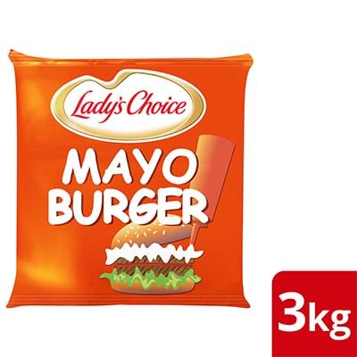 Lady's Choice Mayo Burger 3kg - Lady's Choice Mayo Magic merupakan mayonis ekonomi yang diformulasi istimewa untuk burger yang pasti digemari ramai.