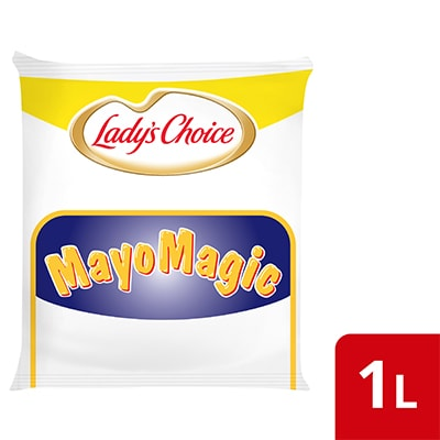 Lady's Choice Mayo Magic 1L - Lady's Choice Mayo Magic is a mayo specially formulated for burgers with a taste diners will love.
