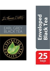 Sir Thomas Lipton Earl Grey Envelope Teabags 2g -