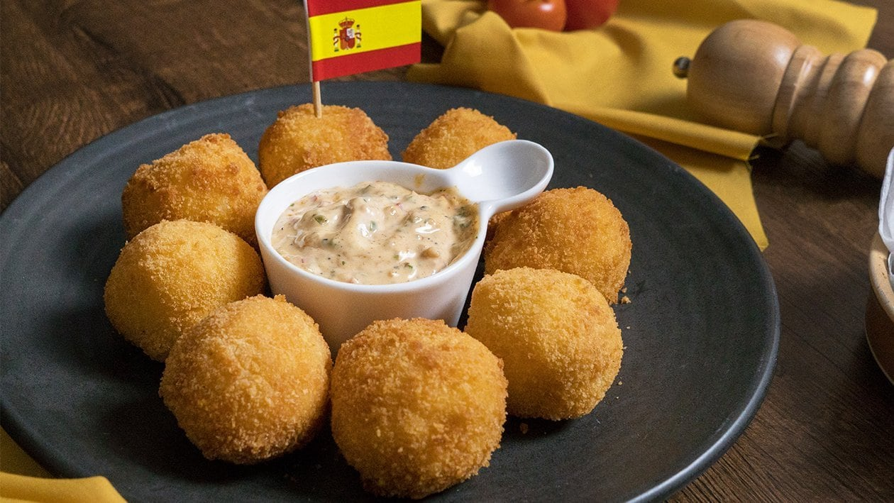 Spanish Potato Bombas