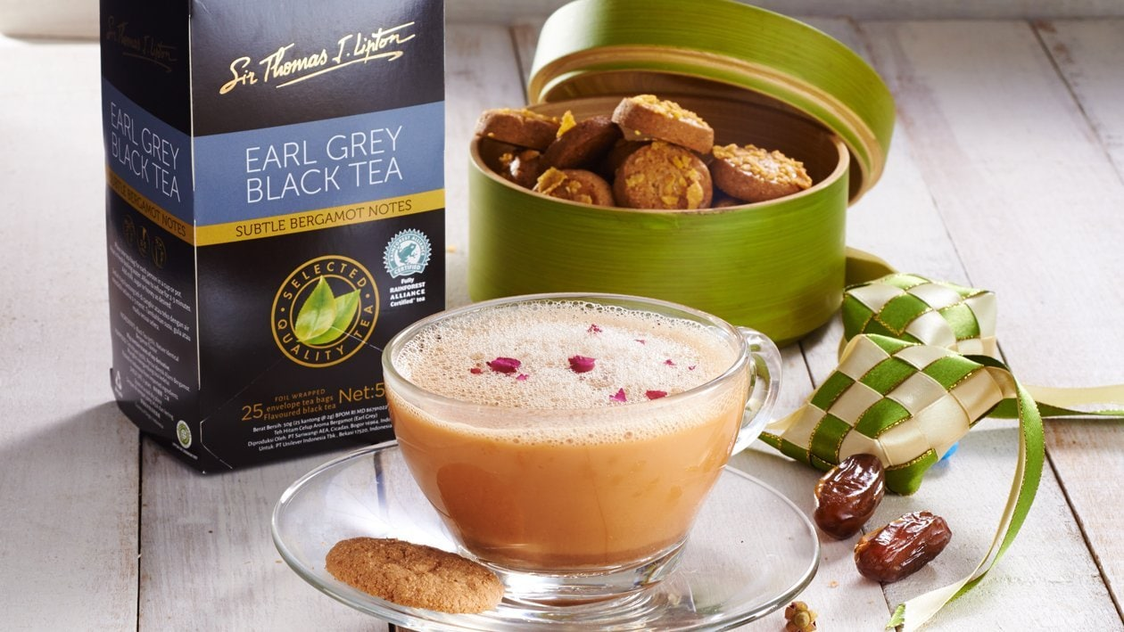 Kurma Rose & Earl Grey Latte