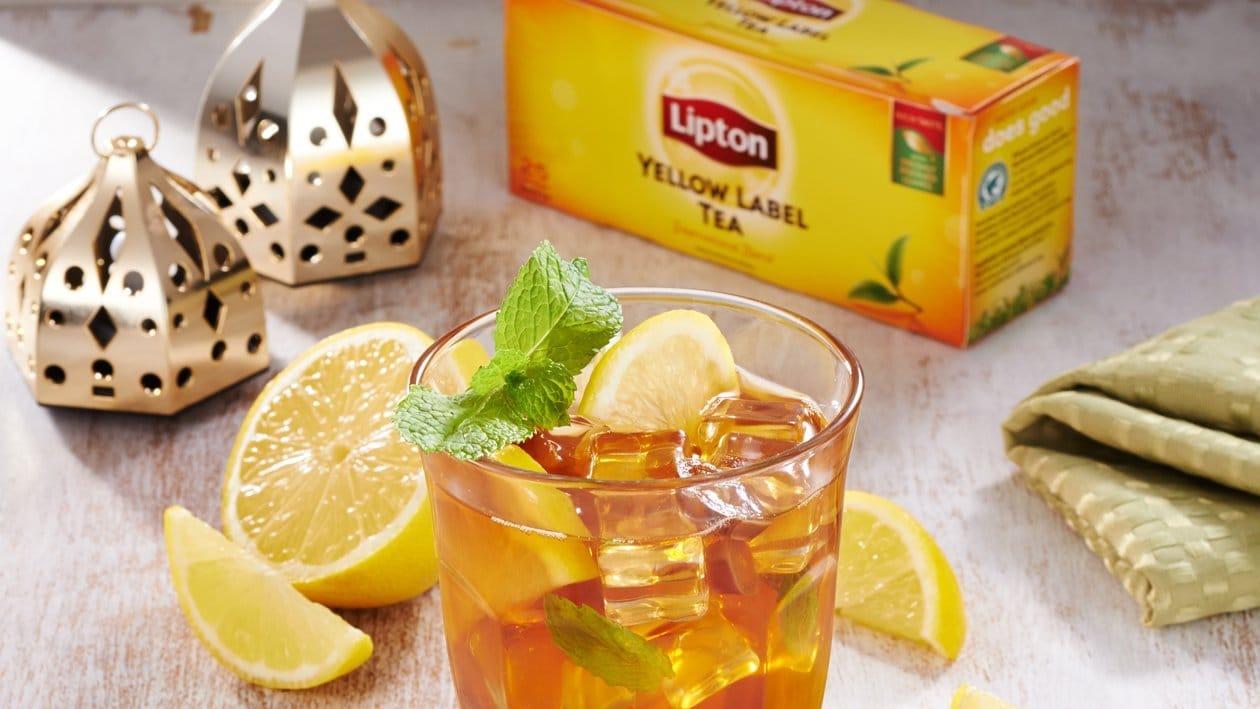 Teh Sirap kurma dan Lemon