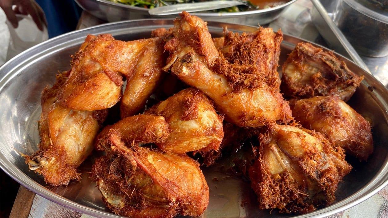 """Spiced"" Fried Chicken"