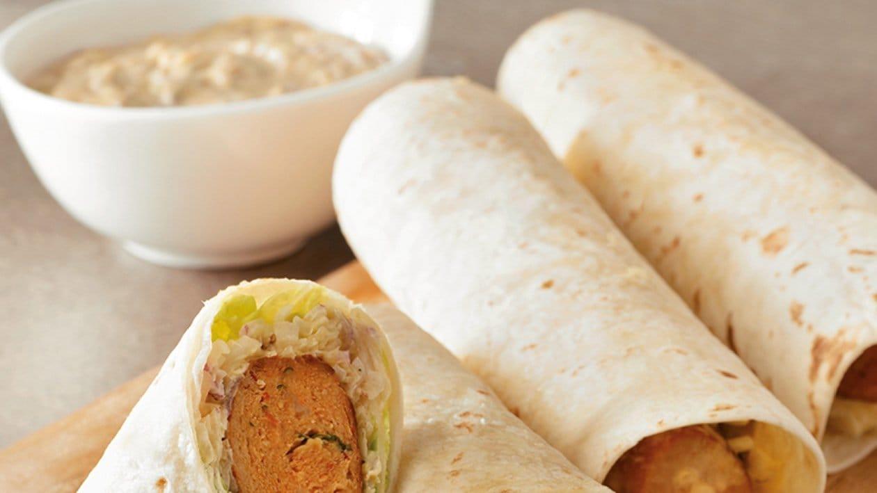 Chicken Kebab Burritos