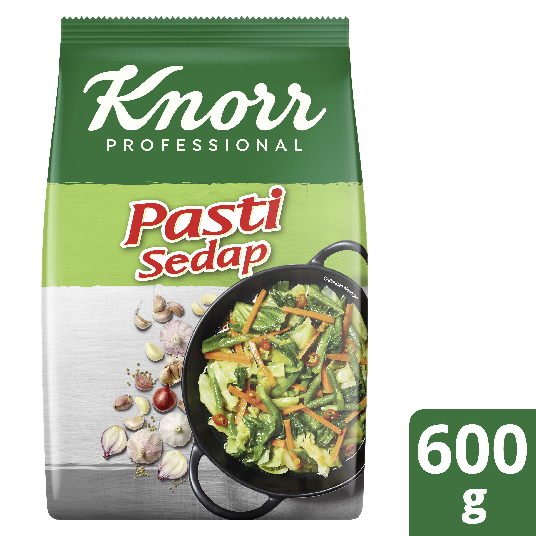 Knorr Pasti Sedap Pek Peniaga Baru 600g - Knorr Pasti Sedap is an all-in-one seasoning which made with original ingredients.