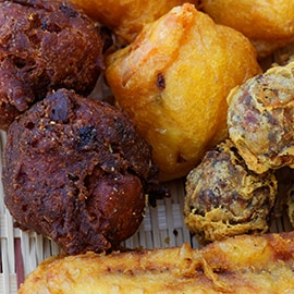 2. Fried snacks